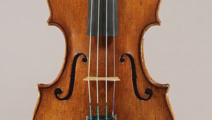 old violin waist