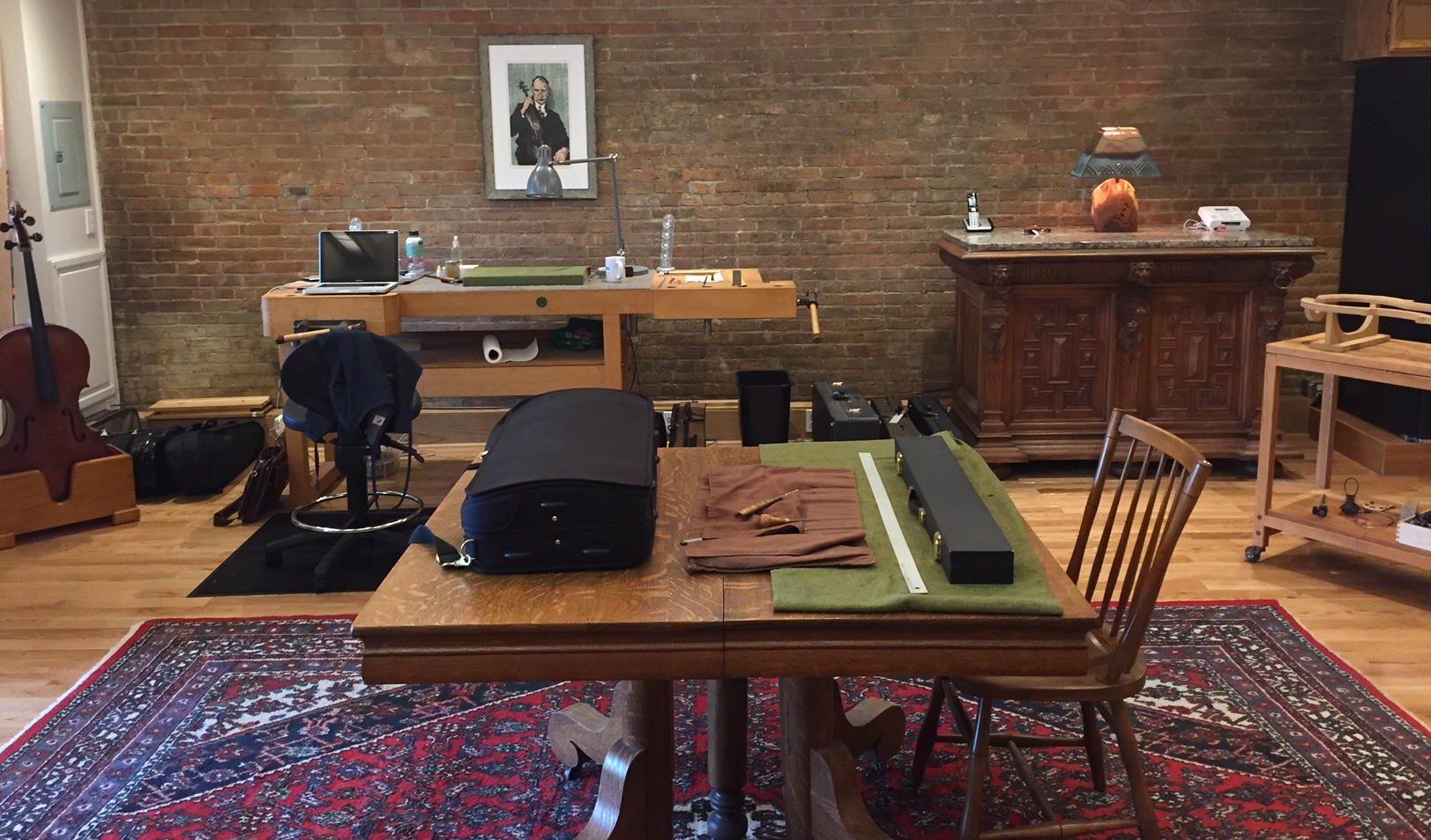 JS Holmes Violins new location